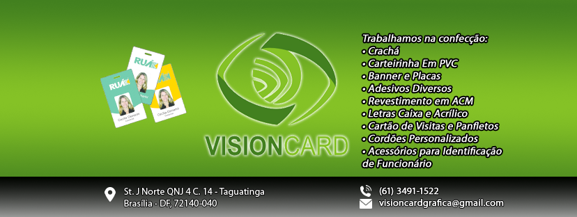 Design Gráfico Vision CARD