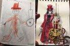 Ilustrador recria os desenhos do filho e o resultado é impressionante